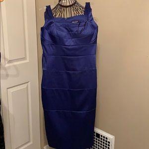 Classic style jewel tone cocktail dress